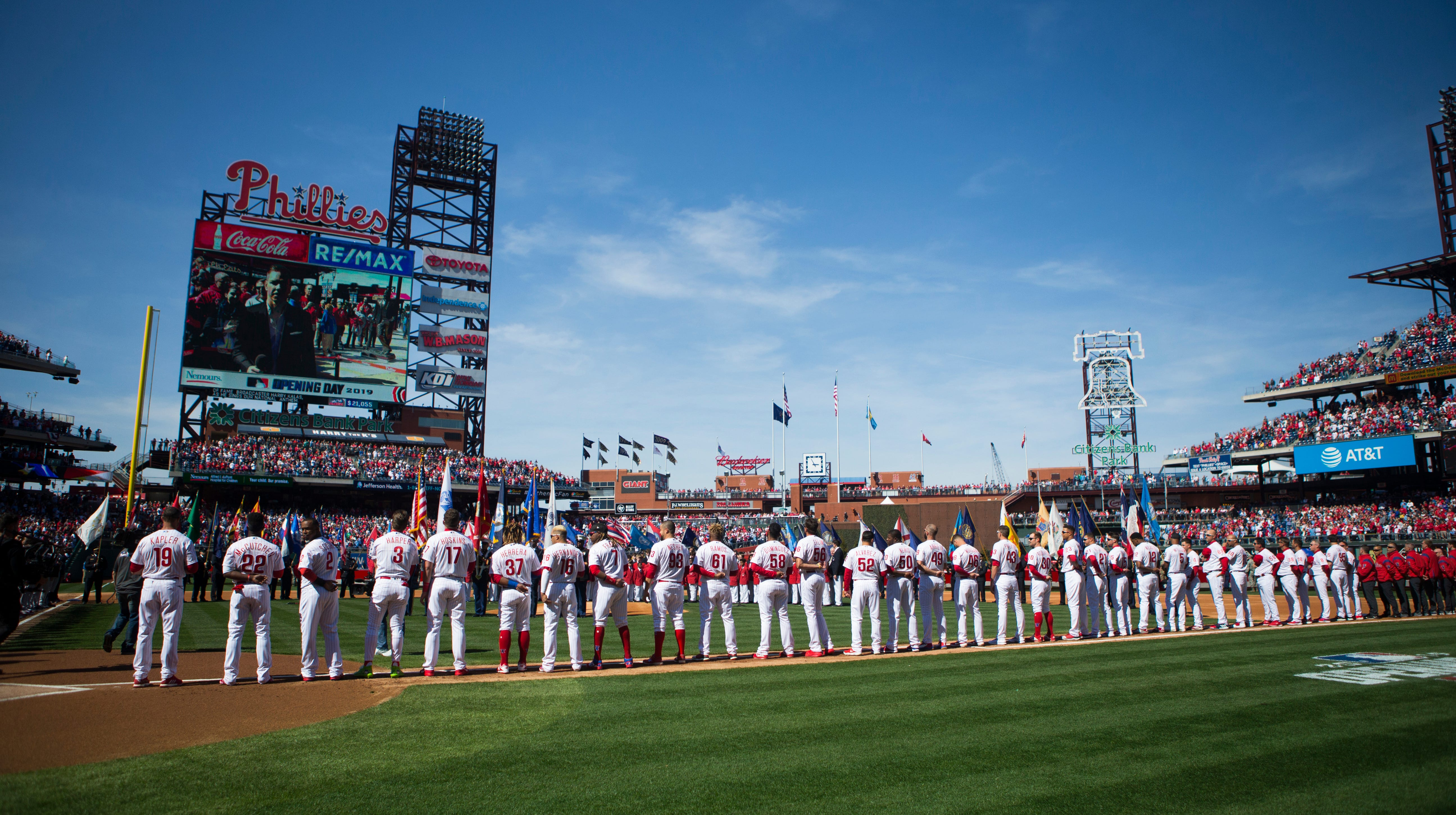 It's like the good old days again for Phillies, fans on Opening Day