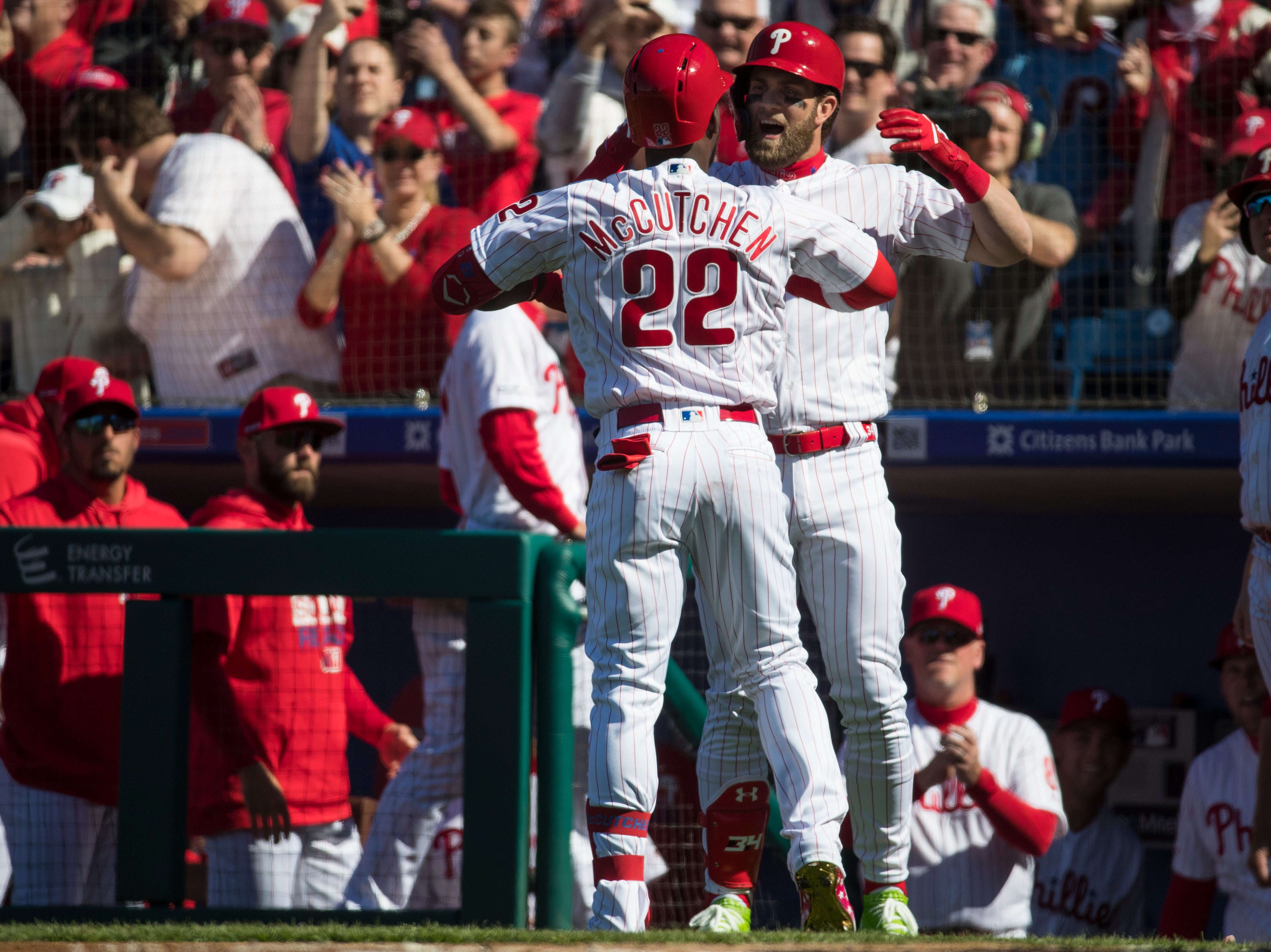 Bryce Harper, hears a few boos, shows love to fans as Phillies blast Braves in opener
