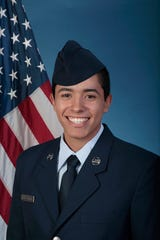 U.S. Air Force Airman Ruben Lugo-Garza