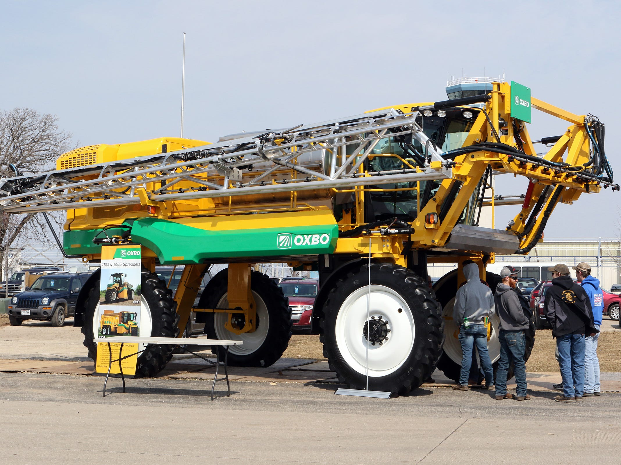 Machinery of all sizes was on display at the Wisconsin Public Service Farm Show March 26-28.