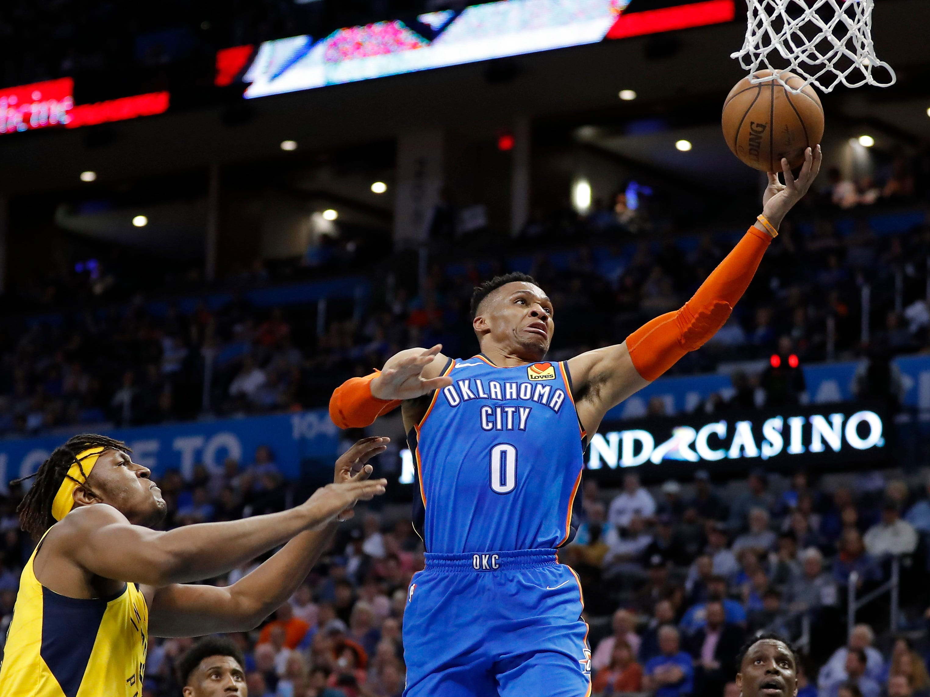 110. Russell Westbrook, Thunder (March 27): 17 points, 11 rebounds, 12 assists in 107-99 win over Pacers (29th of season).