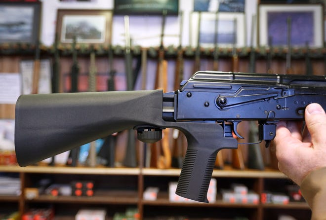 The Supreme Court refused Thursday to halt a ban on bump stocks that went into effect Tuesday. The mechanisms are used to turn rifles into the equivalent of machine guns.