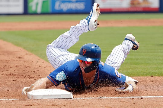 eebefd811 Pete Alonso: Mets rookie gets Opening Day MLB debut