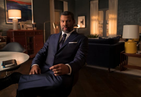 """Twilight Zone"" executive producer Jordan Peele also takes on Rod Serling's iconic role as narrator."