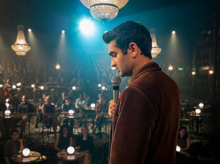 "Kumail Nanjiani stars as a stand-up comic who learns of an extreme way to fame in the premiere episode of the new ""The Twilight Zone."""