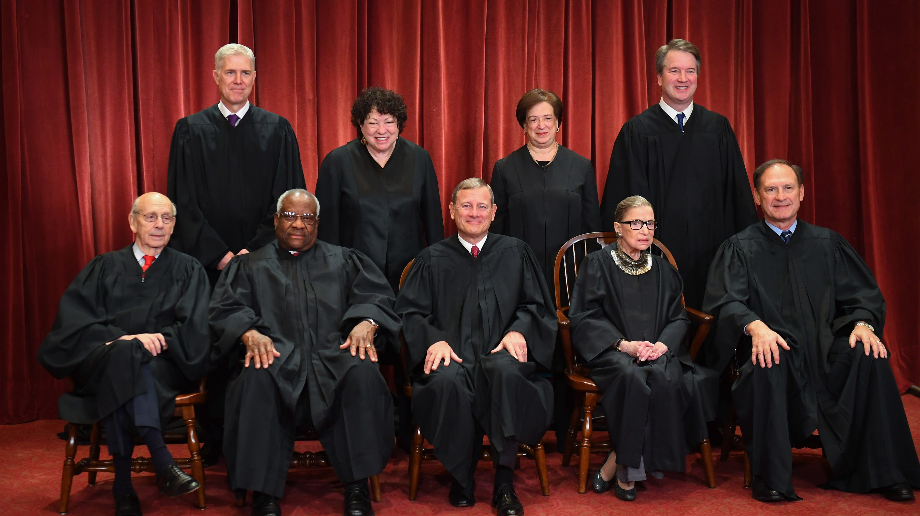 Supreme Court justices remember Ruth Bader Ginsburg as 'a superb judge' who 'inspired us all'