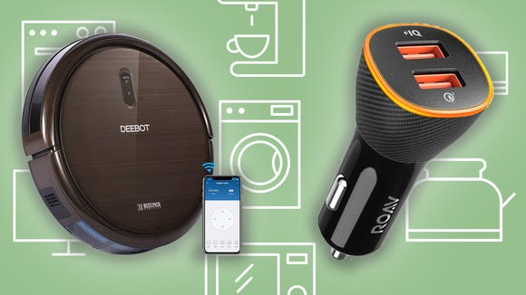 Thursday has some of the best Amazon deals we've seen on car chargers, robot vacuums, and more.