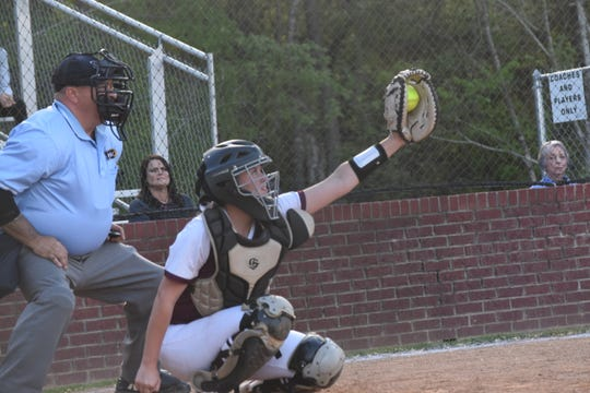 Pineville catcher Adelle Chapman made the LSCA Class 5A All-State team.