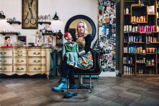 Shear Chaos co-owner Jillian Campbell
