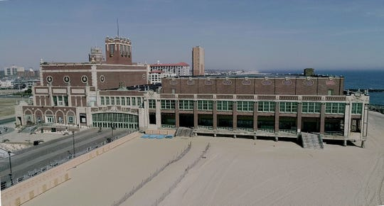 The Paramount Theatre and Convention Hall in Asbury Park is shown Wednesday, March 20, 2019.