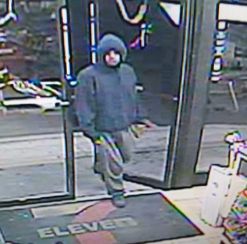 Knife-wielding man who robbed two stores in Toms River sought