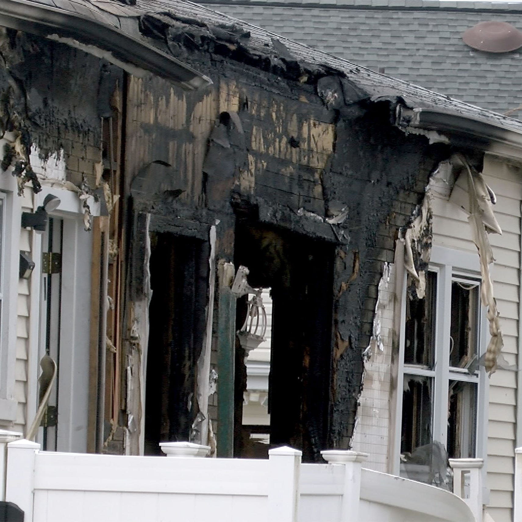 Long Branch fatal fire: Man dies on Charles Street