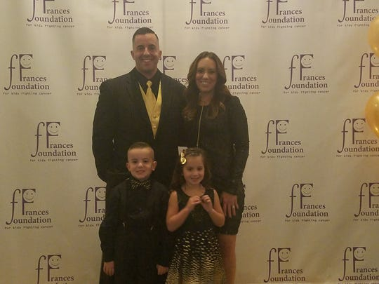 The Honig family: Parents Mike and Janet with Jake and Gianna