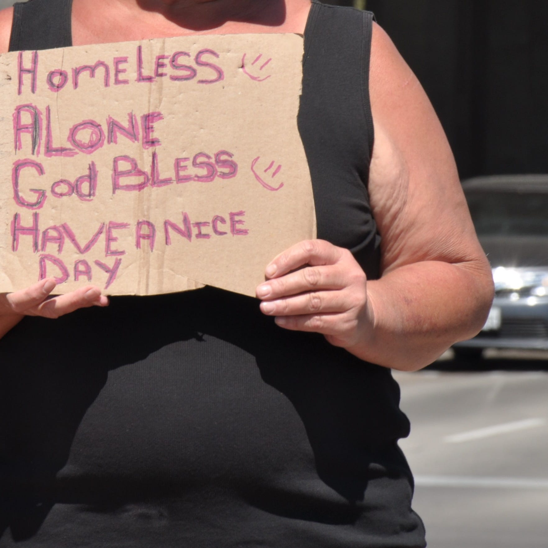 Abilene revises panhandling law to bar standing at some streets
