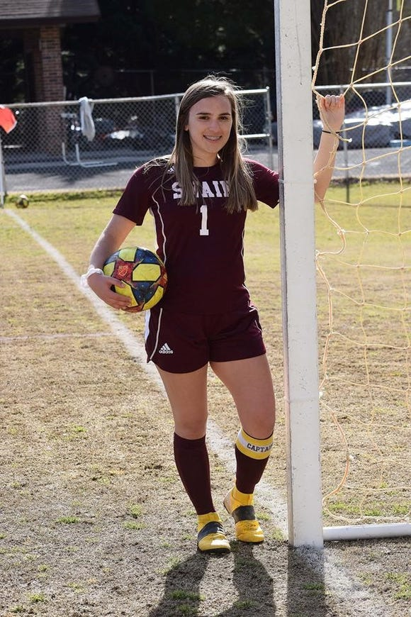 Swain High School Senior Kyndall Cochran reached a milestone this past week