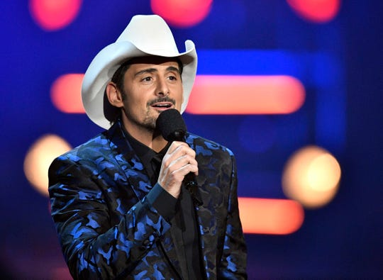 Brad Paisley will perform at the FireKeepers Casino Hotel Event Center on August 1, 2019.