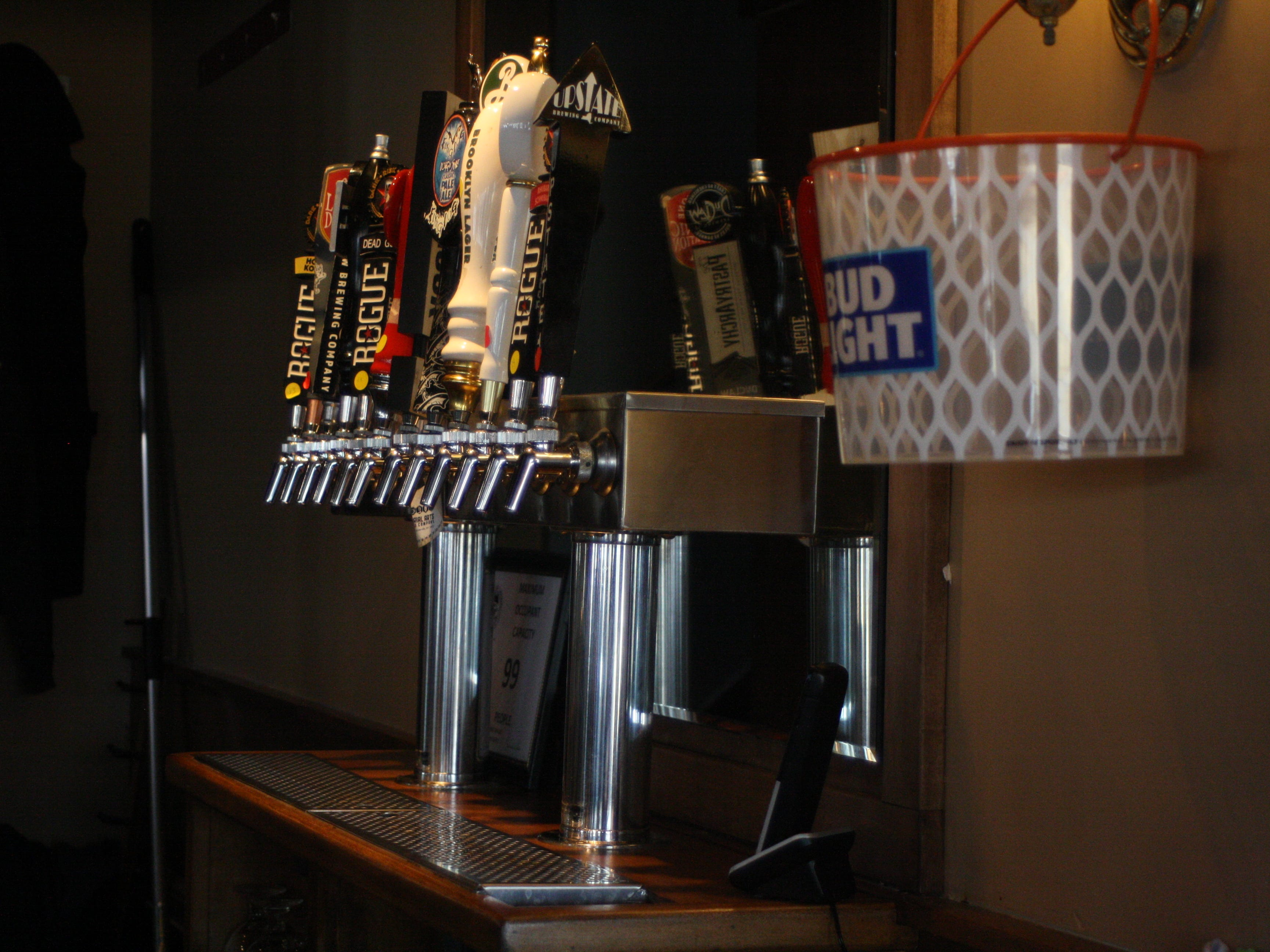 The Pour House Pub and Grill is located on 4402 Watson Blvd in Johnson City.