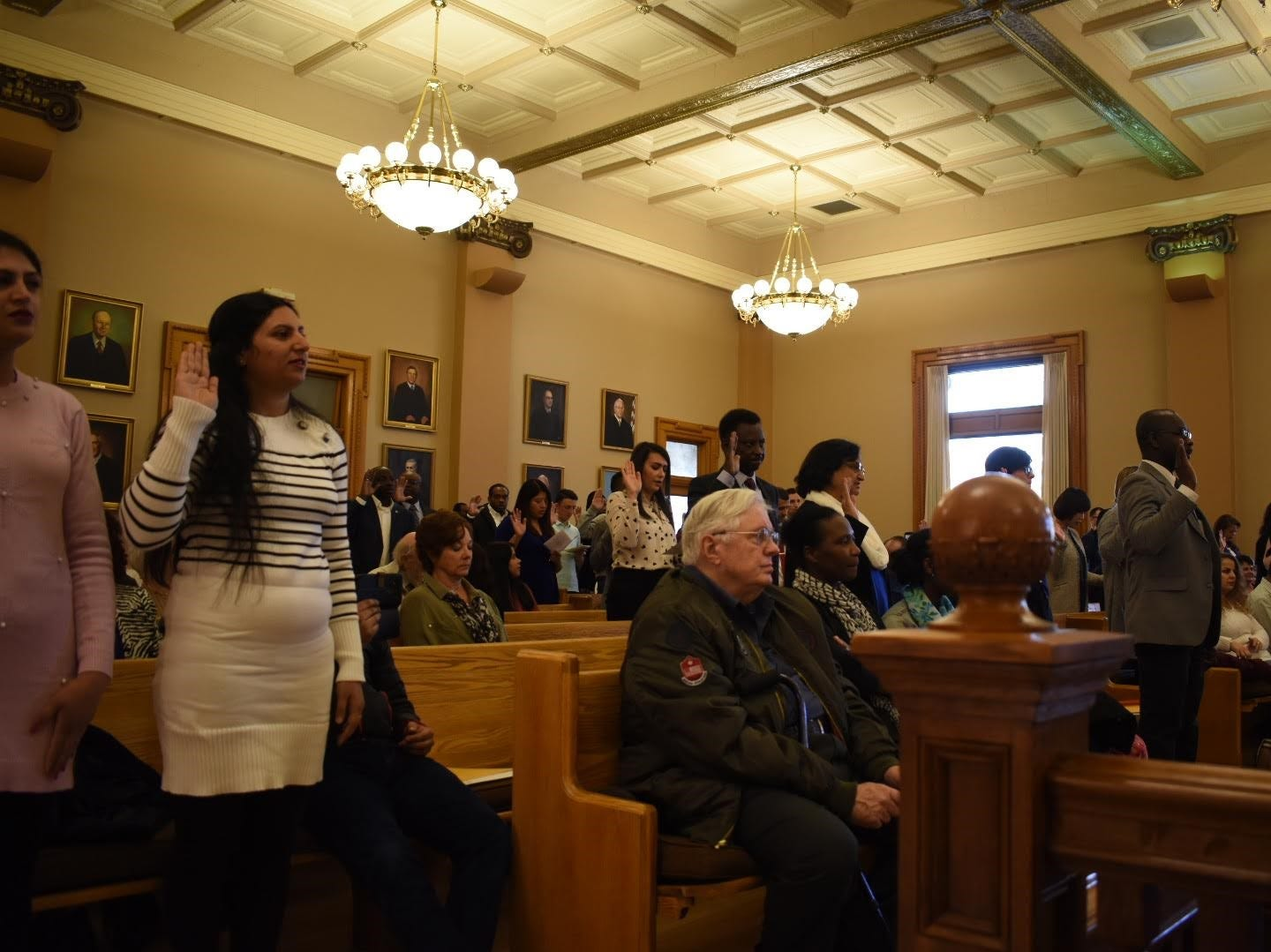 The American Civic Association works with the Broome County Clerk to organize Naturalization Ceremonies. The most recent ceremony was held on March 27.