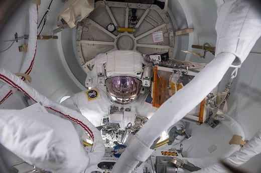 NASA is using the same space suits astronauts wore 30 years