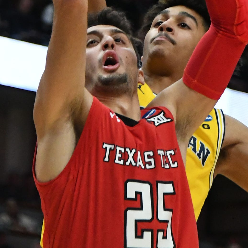 March Madness: Texas Tech's Davide Moretti shines after family surprises him