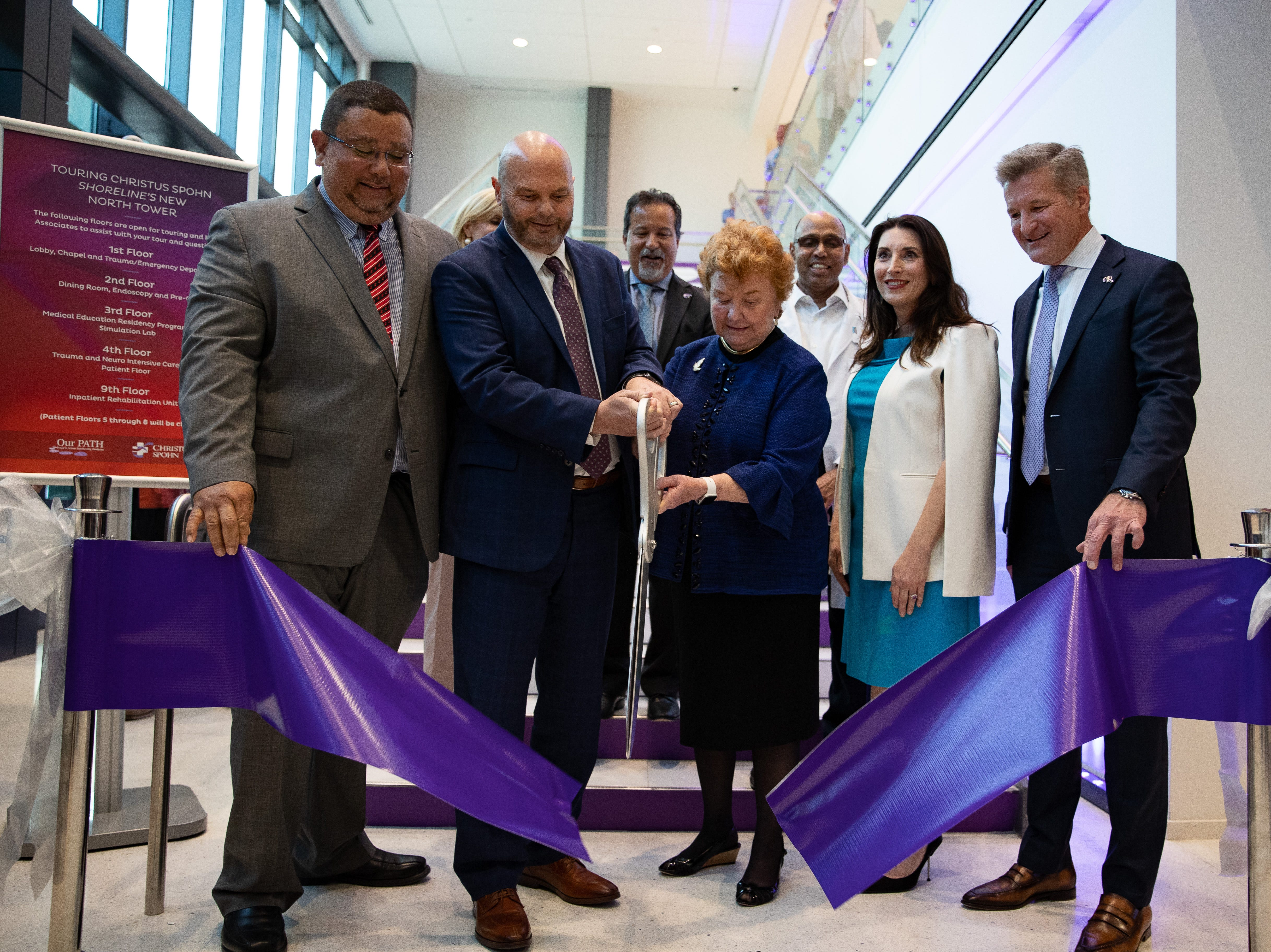 CHRISTUS Spohn Heath System hosts the opening of the new $335 million North Tower at Shoreline Hospital on Thursday, March 28, 2019.