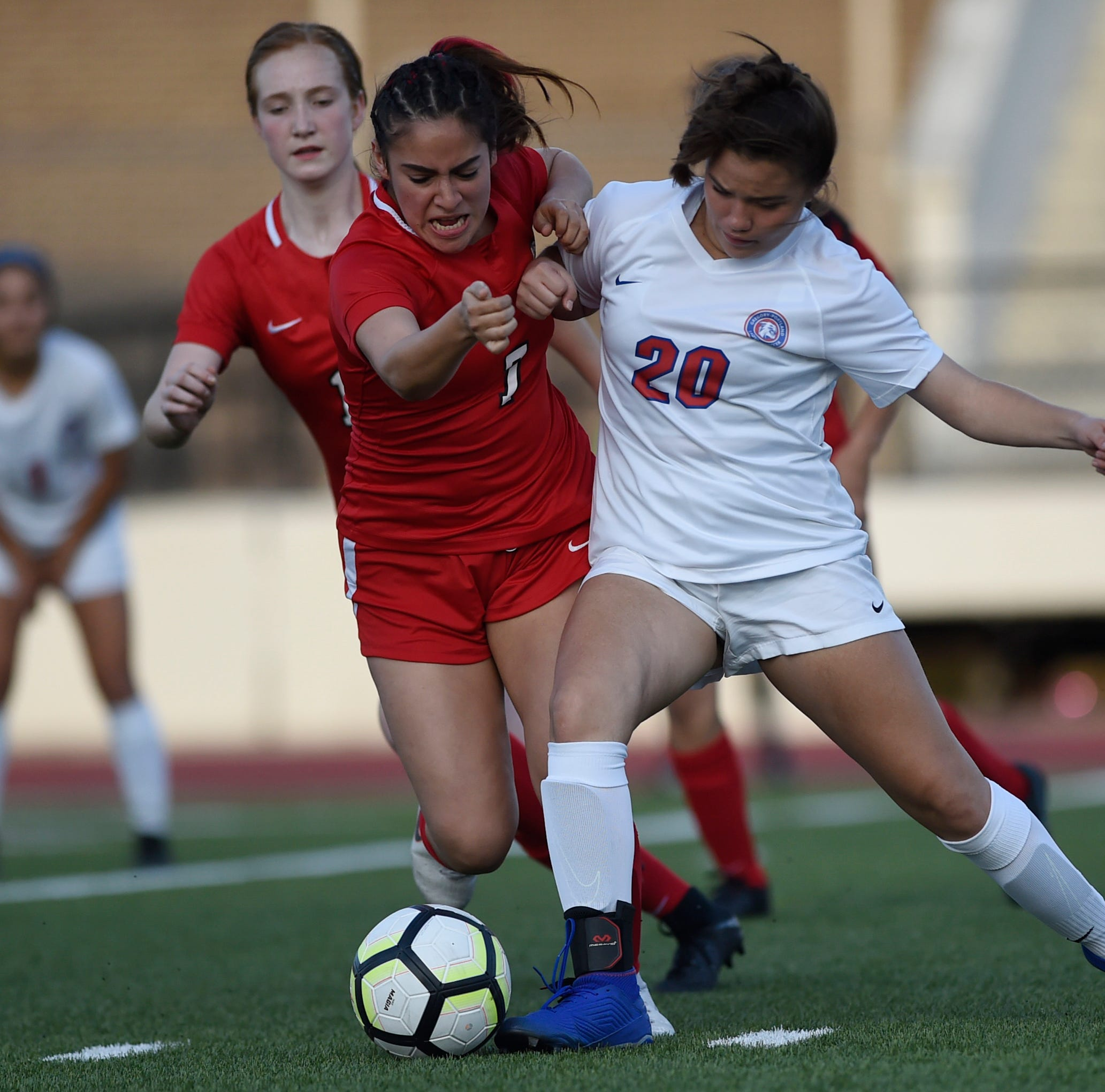 Area high school all-district soccer teams