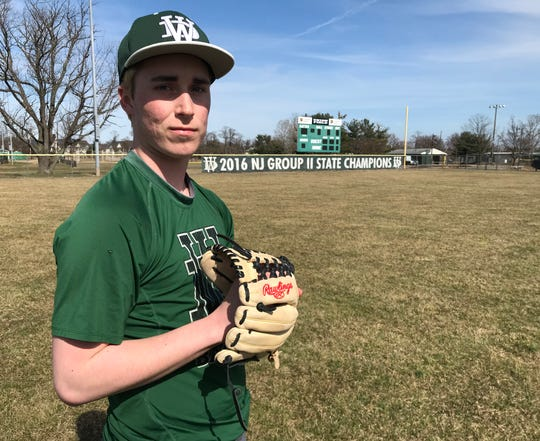 West Deptford senior Dylan Wakeley went 6-3 last season. He's hoping to lead the Eagles to a championship this season.