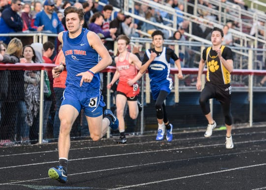 The Chillicothe High School track team took top local honors at the Zane Trace Invitational at Zane Trace High School. The girls took first overall with the boys taking second. Other schools that competed were Huntington, Paint Valley, Waverly, Westfall, Adena, Zane Trace, Piketon, and Southeastern.