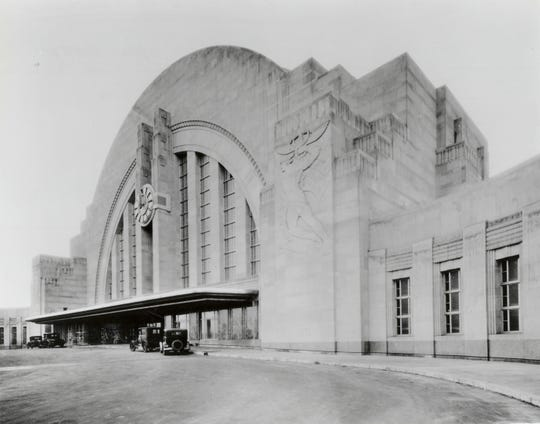Union Terminal opened in 1933.