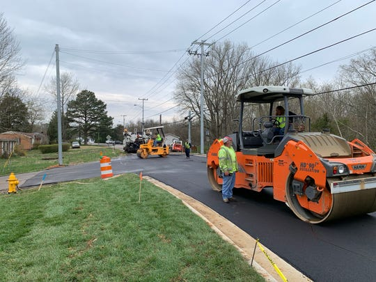 Improvements to Edmondson Ferry Road intersection with U.S. 41A Bypass