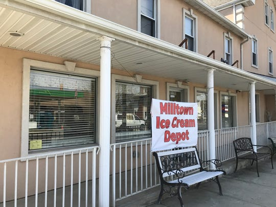 Milltown Ice Cream Depot has reopened its doors at its new location at 32 S. Main Street, Milltown.