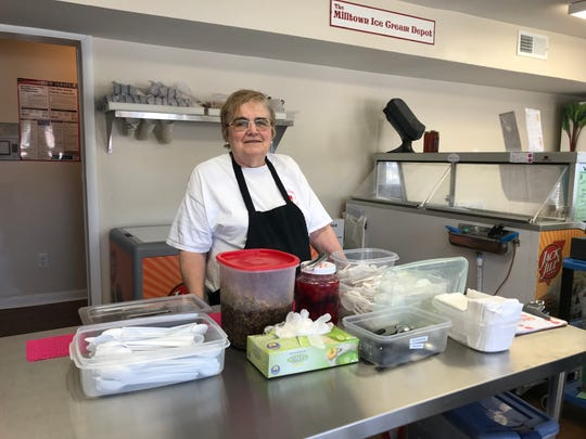 Joan Trent, who grew up in the borough, but now resides in Monroe, is no stranger to ice cream. She opened her first shop in the borough in 1996.
