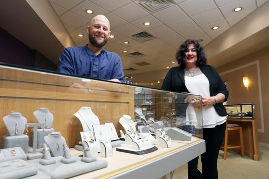 Michelle Turner Ganz and her brother Noah Turner run Dean's Jewelry in Coshocton. The business was started by their grandfather, Dean Turner, in 1966.