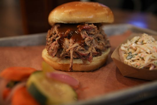 Iowa Barbeque Company in Le Mars won second place in the Pulled Pork Madness 2019 contest hosted by the Iowa Pork Producers Association for its pulled pork sandwich made from heritage breed American Duroc pork smoked in a custom-built smoker fed by Midwest Red Oak.