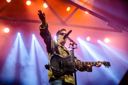 Weezer performs at Wells Fargo Arena Thursday, March 28, 2019.