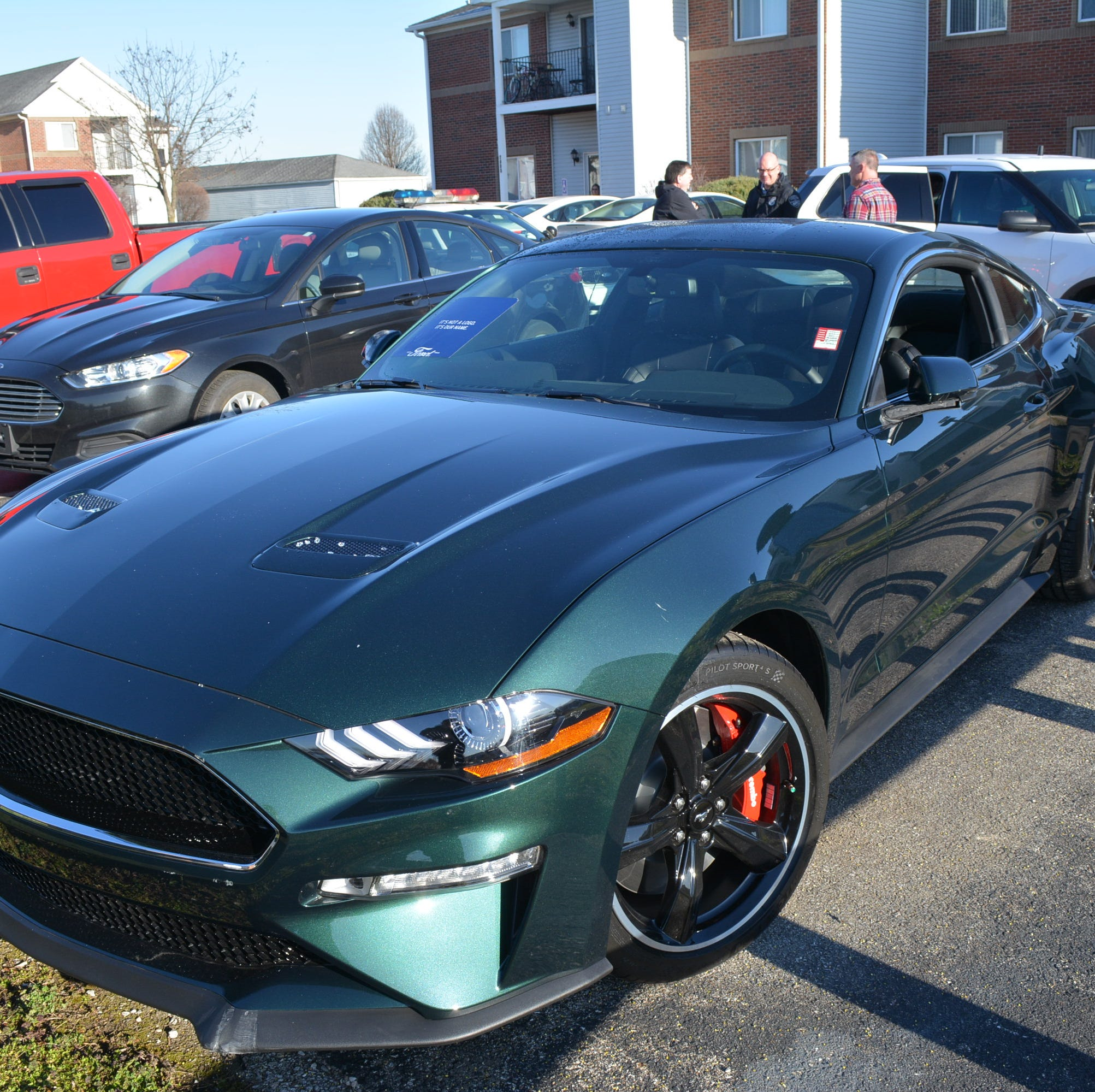Thief plows Mustang Bullitt out of dealership showroom — maybe as a diversion