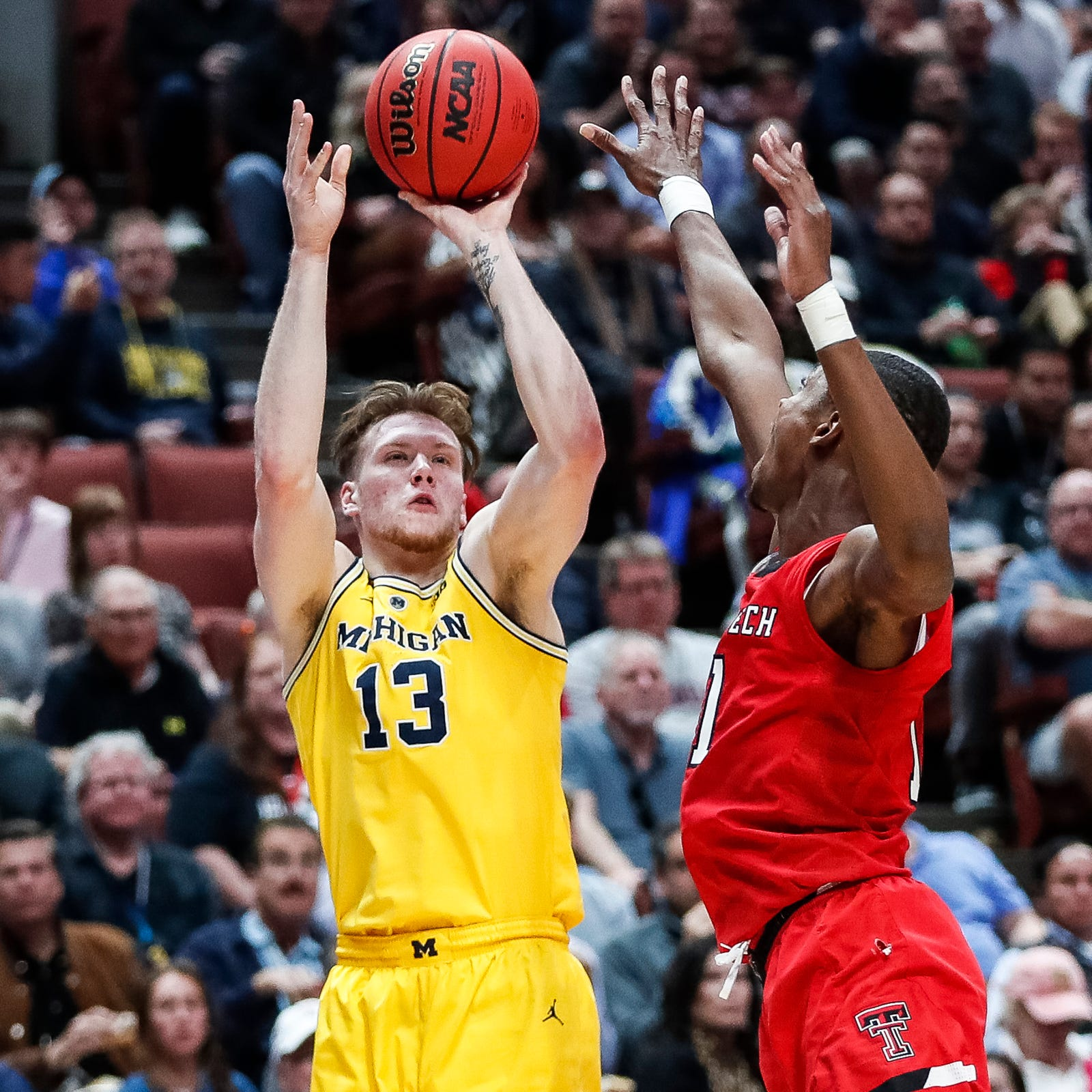 Michigan's Ignas Brazdeikis leaning toward NBA draft after Beilein exit