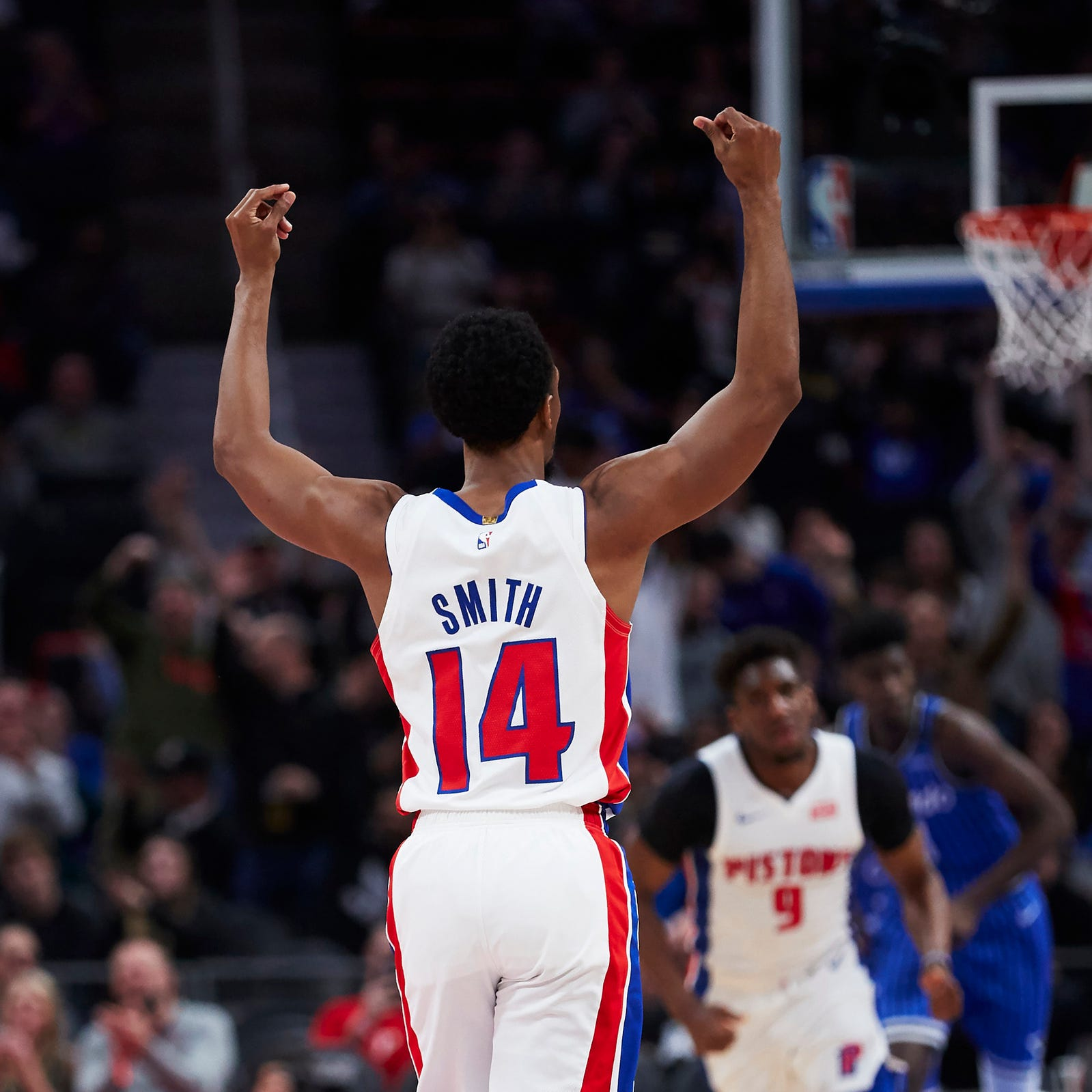Wayne Ellington, Ish Smith will be free agents. Detroit Pistons need them back