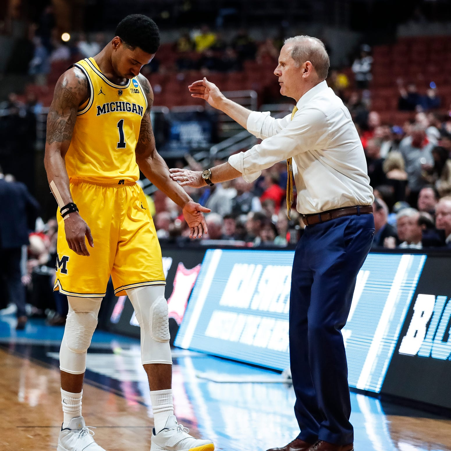 Michigan's John Beilein no stranger to retooling roster. Time to do it again