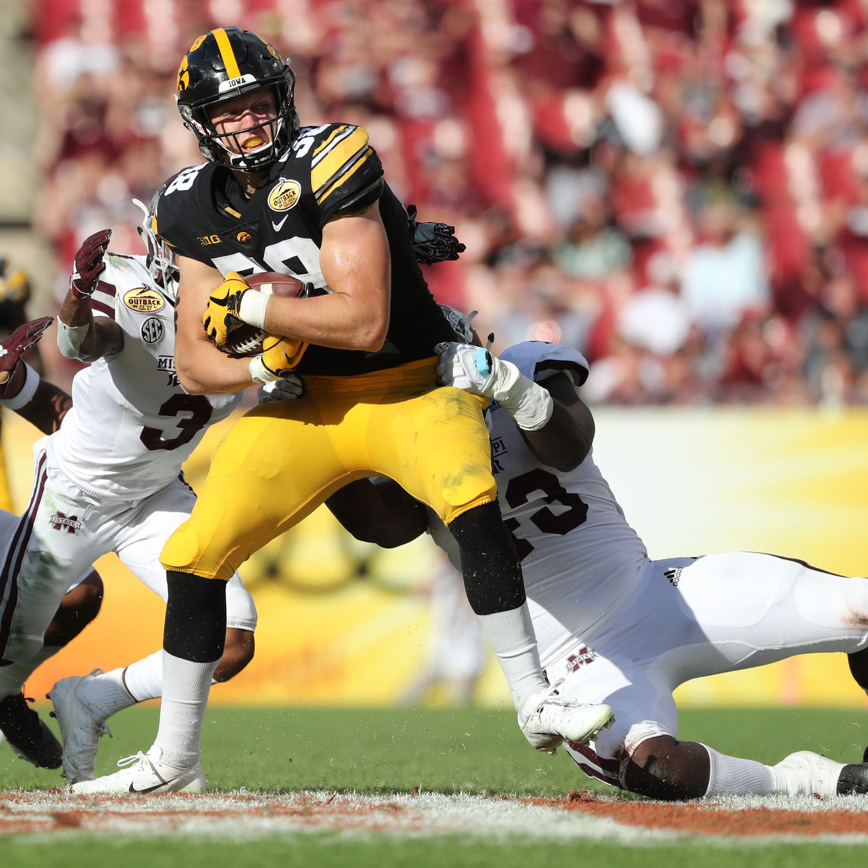 Here's why Iowa TE T.J. Hockenson makes sense for Lions in NFL draft