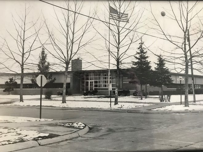 An undated photo, believed to be taken in the 1970s, of St. Sebastian Catholic School in Dearborn Heights.