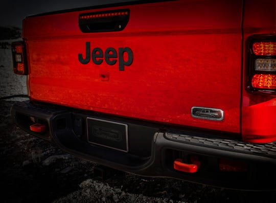 The 2020 Jeep Gladiator Launch Edition will have a special forged aluminum badge.