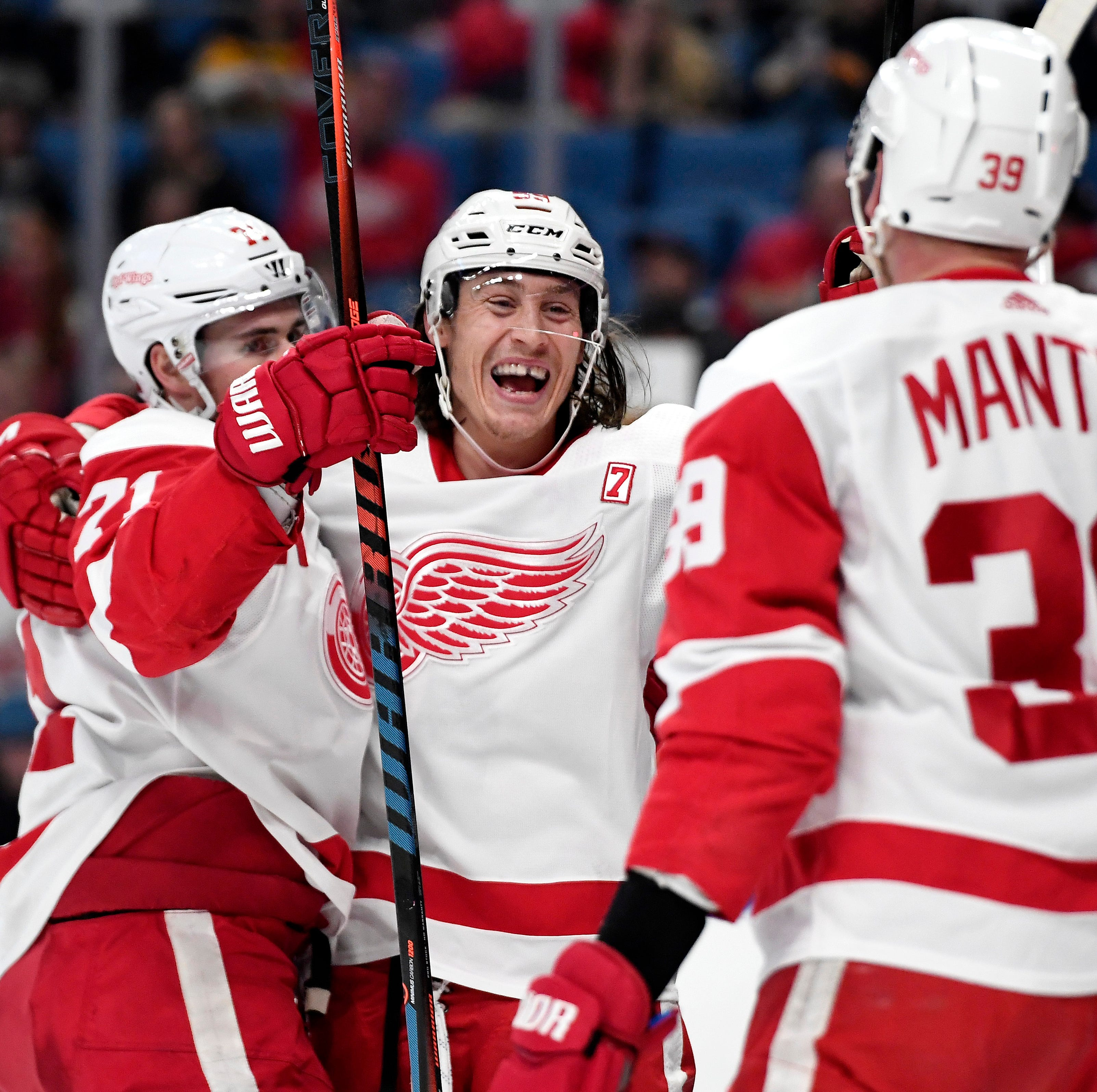 Detroit Red Wings' 30-goal scorers snap the NHL's longest drought