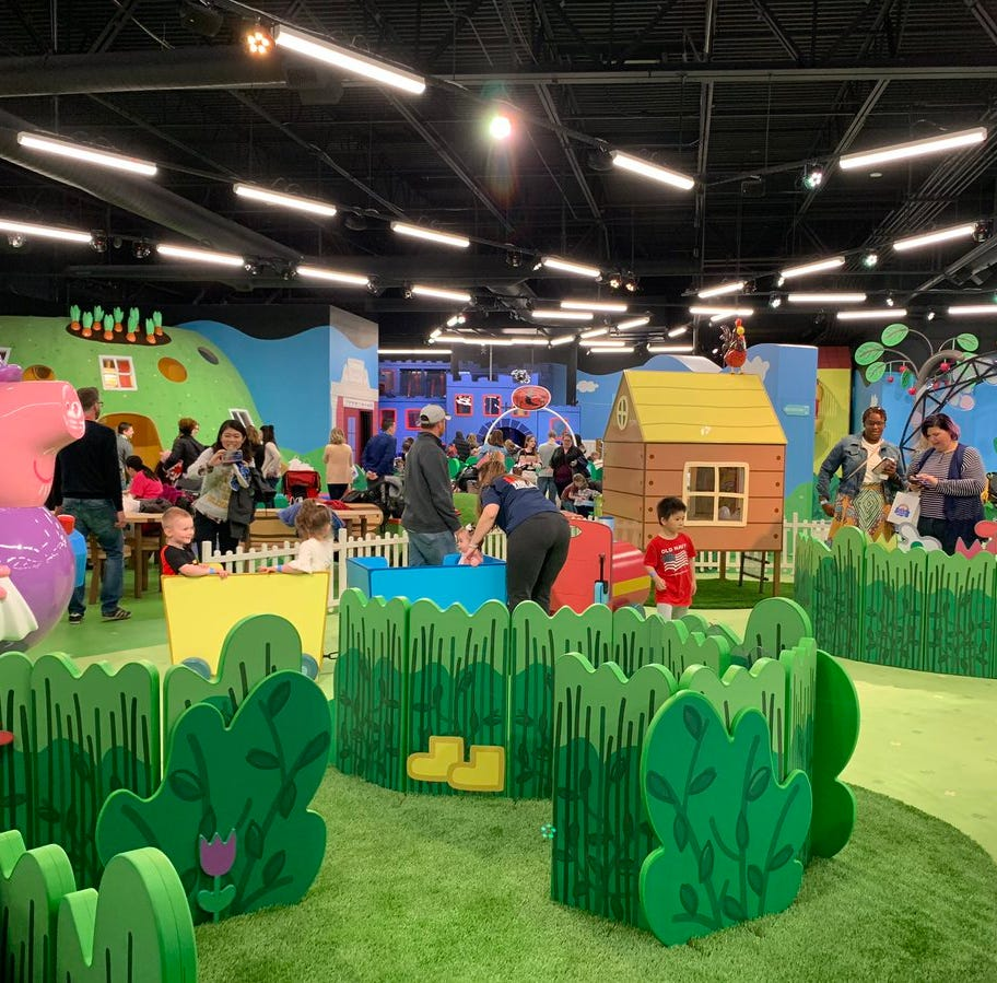 Peppa Pig's World of Play at Great Lakes Crossing: An early look inside