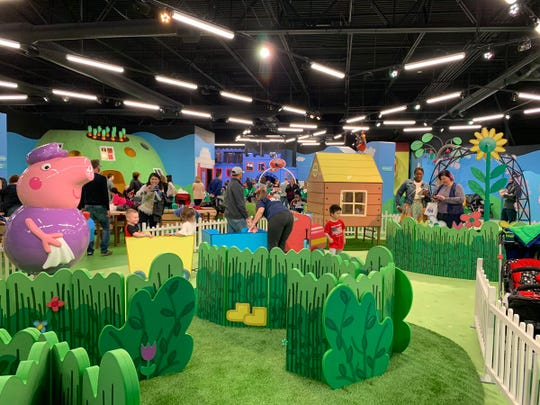 A look inside Peppa Pig's World of Play at Great Lakes Crossing.