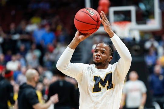 Michigan guard Zavier Simpson.
