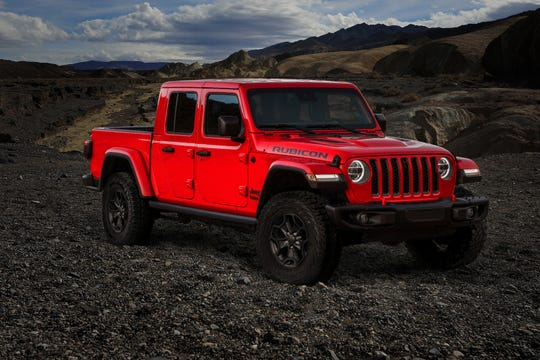 Jeep will build 4,190 of its Jeep Gladiator Launch Edition pickups.