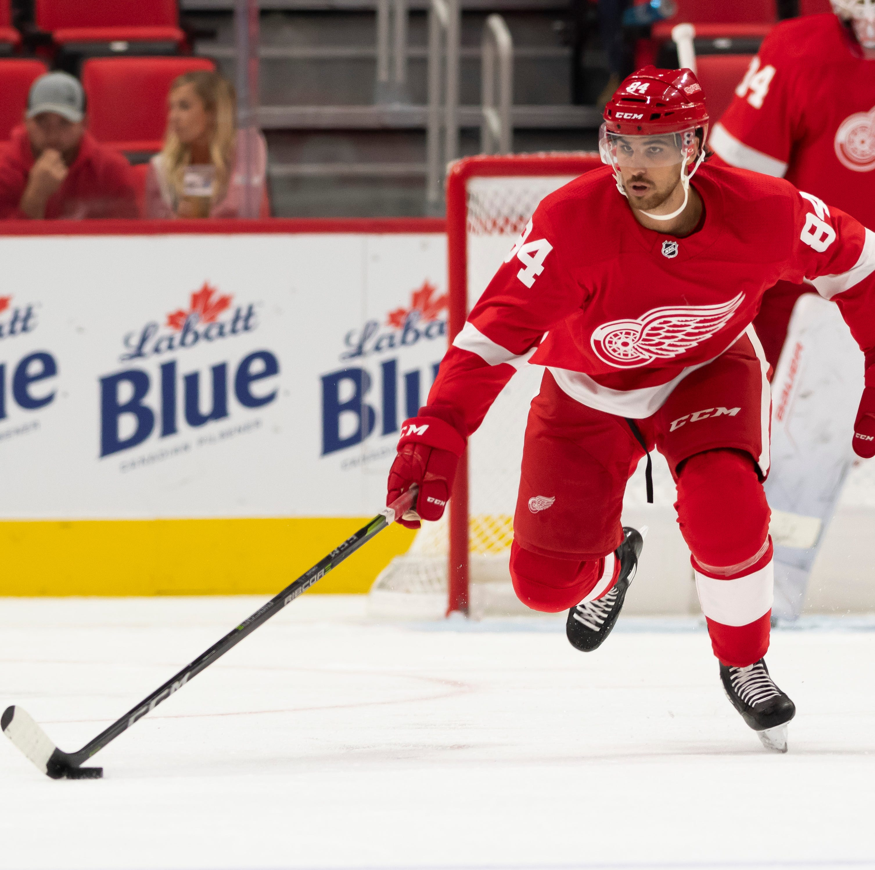 Red Wings have a Chelios in their lineup against Devils