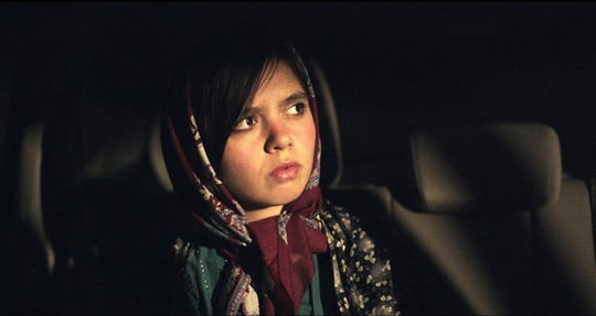 "Marziyeh Rezaei in ""3 Faces."""