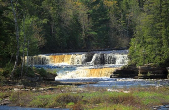 Tahquamenon Falls State Park encompasses close to 50,000 acres stretching over 13 miles.